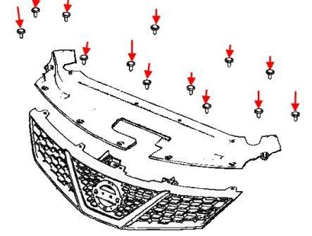 решетка радиатор